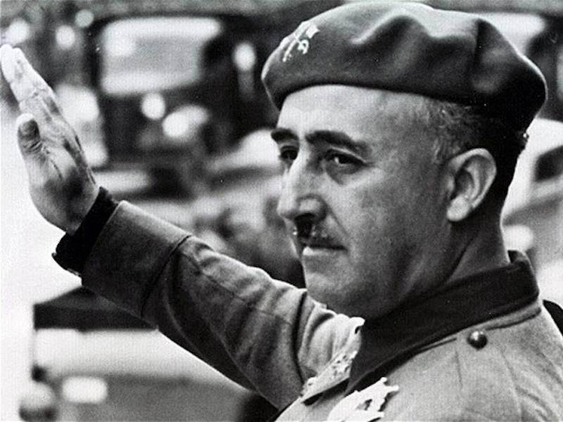 Правление: 1938-1975 гг. С помощью нацистской Германии и фашистской Италии в 1930-х годах генерал Фр