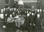 Собрание актива  Кадетской партии в доме В.Д. Набокова (Б.Морская ул.,47) накануне открытия  Второй Государственной думы.