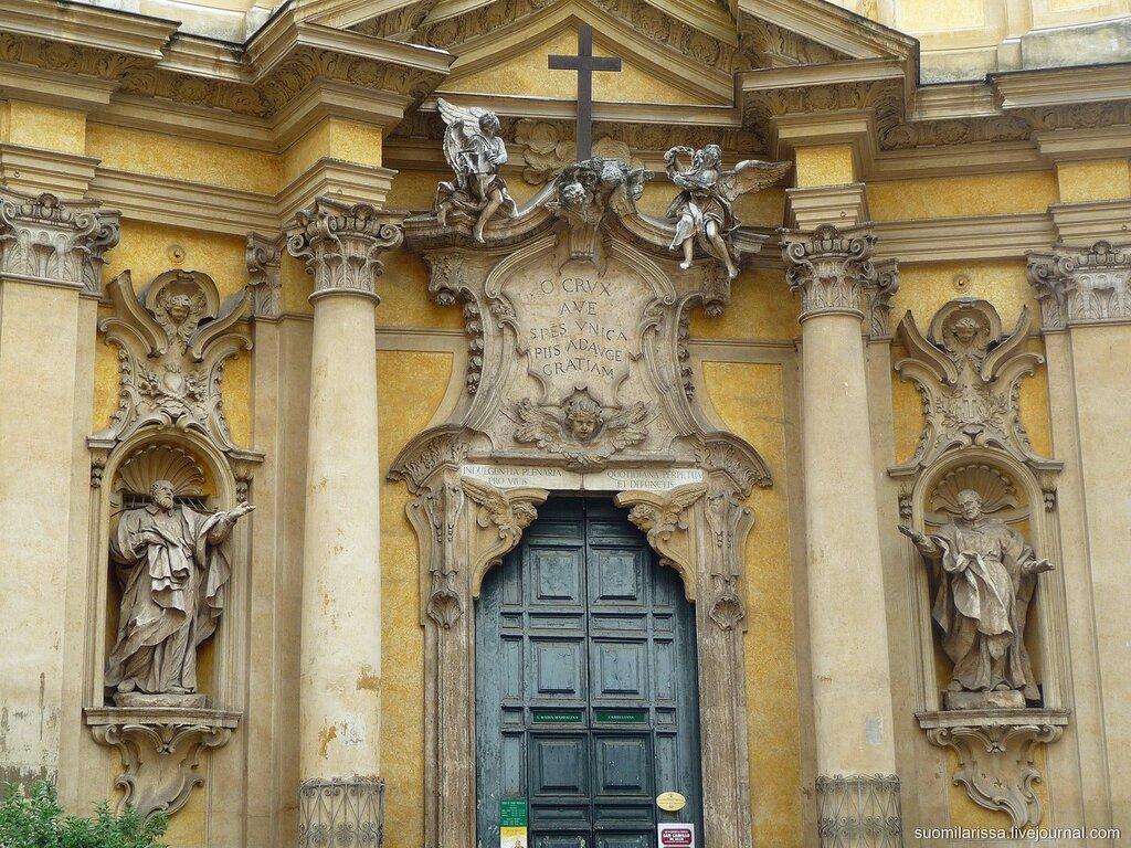 Церковь La Maddalena.