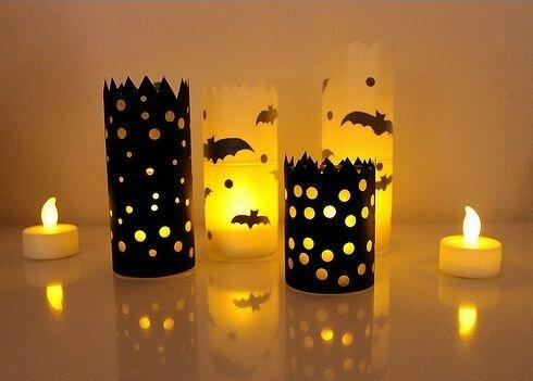 Свечи к Хэллоуину