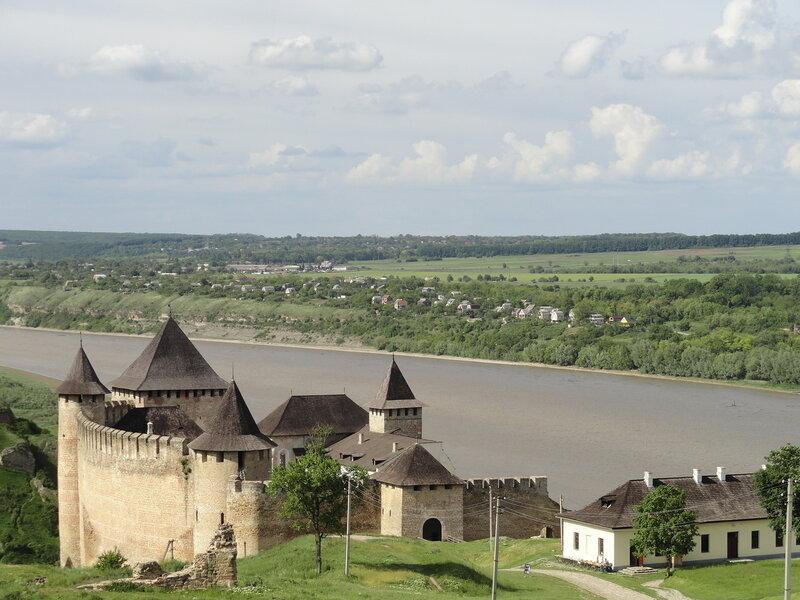 Хотин Фортеця Замок