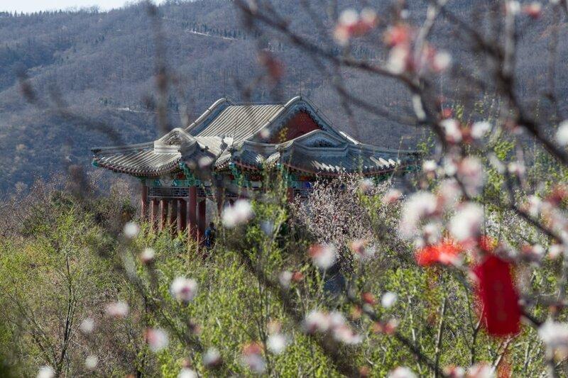 Беседка Таюнь, парк Сяншань, Пекин