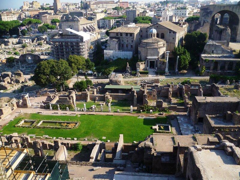 Италия. Рим. Форум (Italy. Rome. Forum).