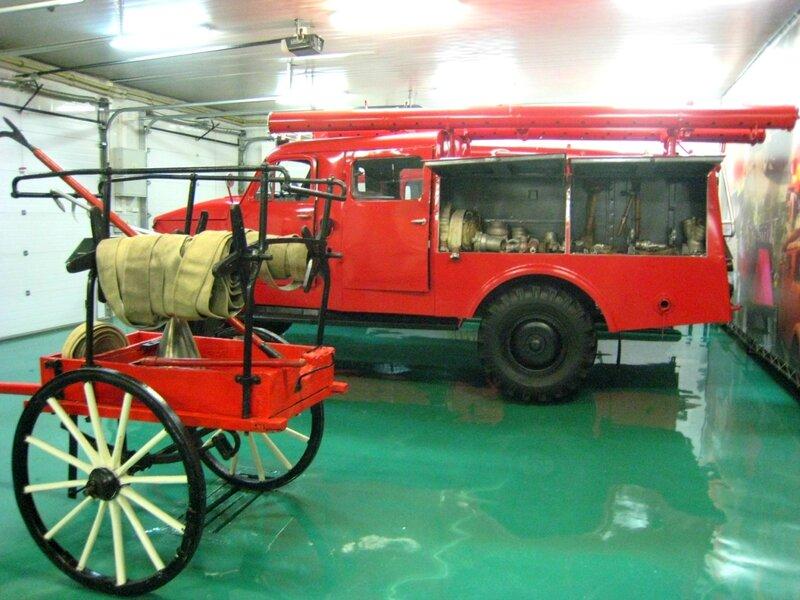Пречистенское пожарное депо