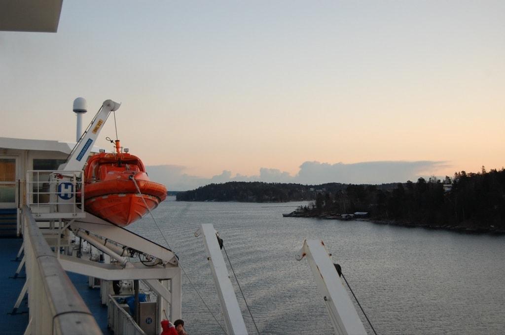 подплываем к Стокгольму