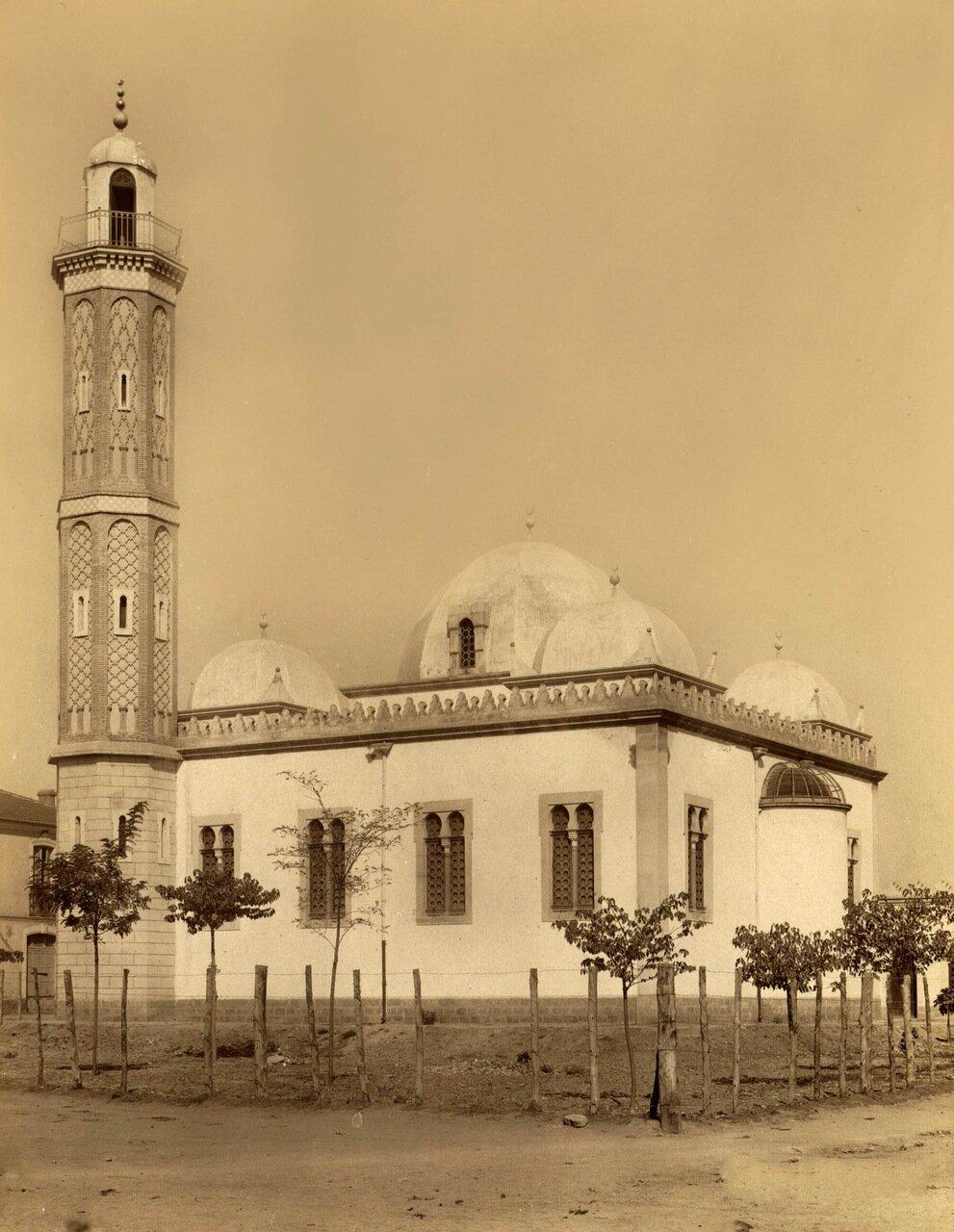 1860-1890. Сиди-Бель-Аббес. Мечеть