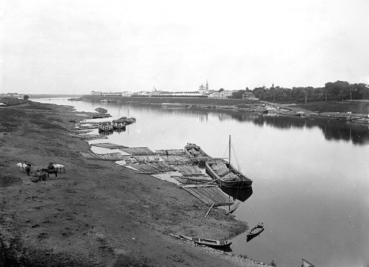 Общий вид города Тверь. 1903 г.