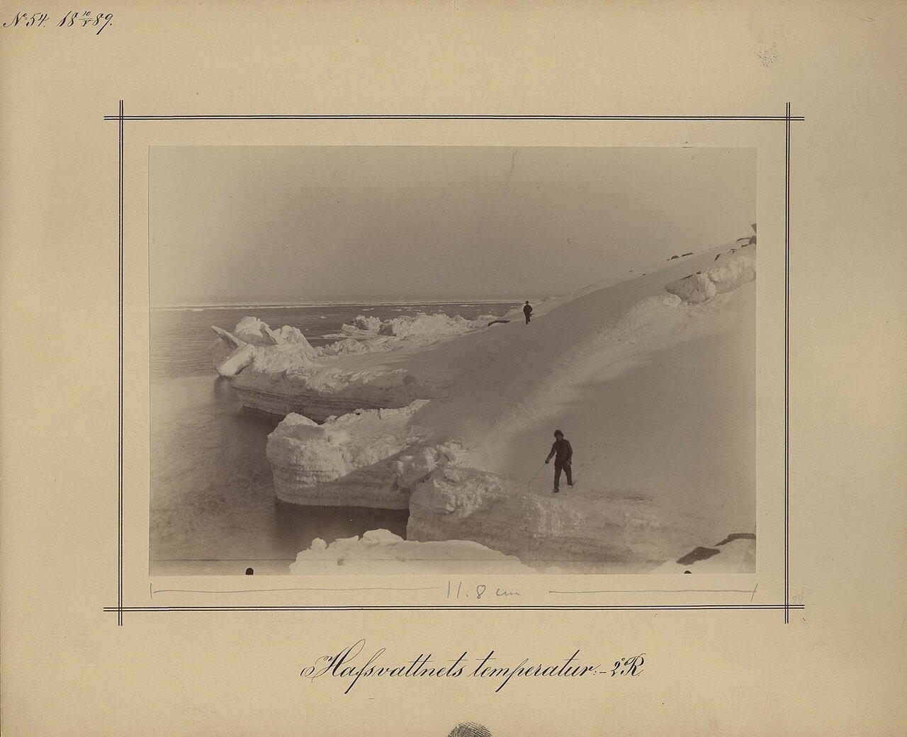 10.5.1889. Температура моря 2,5 ° c