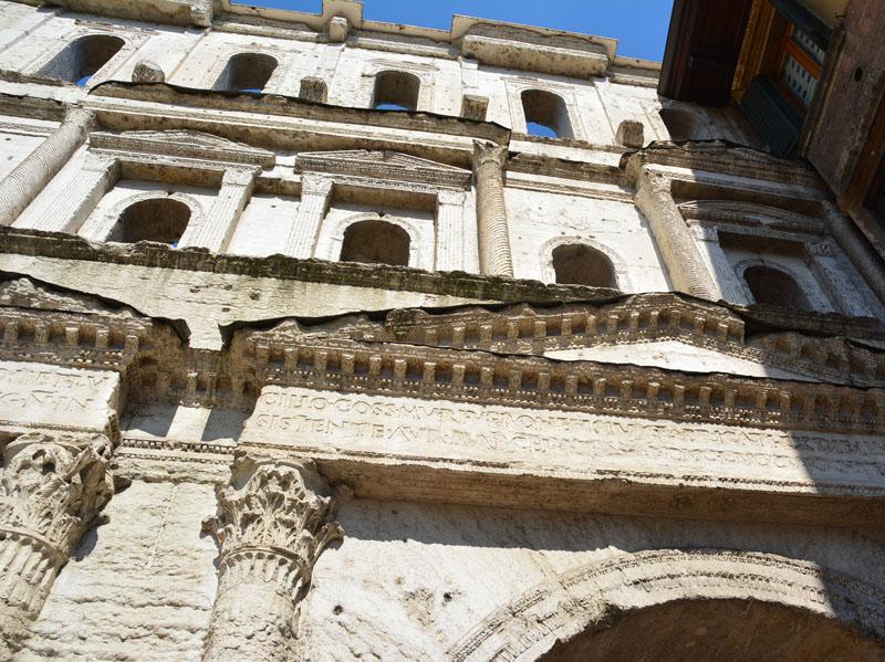 Порта Борсаи - античные ворота