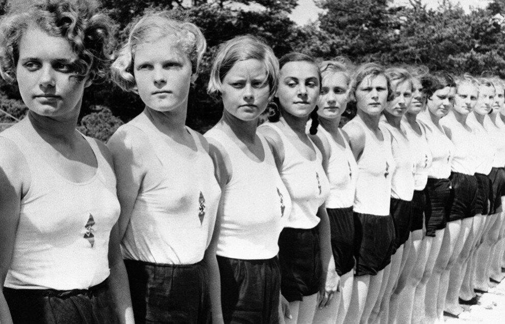 BDM girls,1936