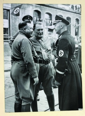 Эрнст Рем, Герман Геринг, Генрих Гиммлер, Мюнхен, 1933 год