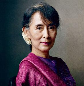 Noblistka Aung San Suu Kyi u Prezydenta RP