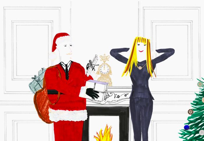 Рождественское рекламное видео Dior – Роза Ветров