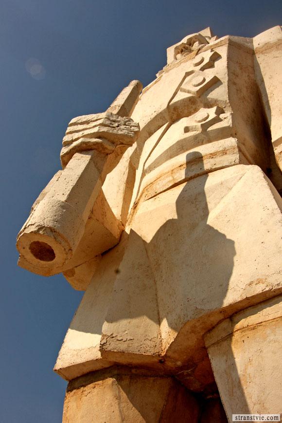 Мыс Калиакра памятник Ушакову