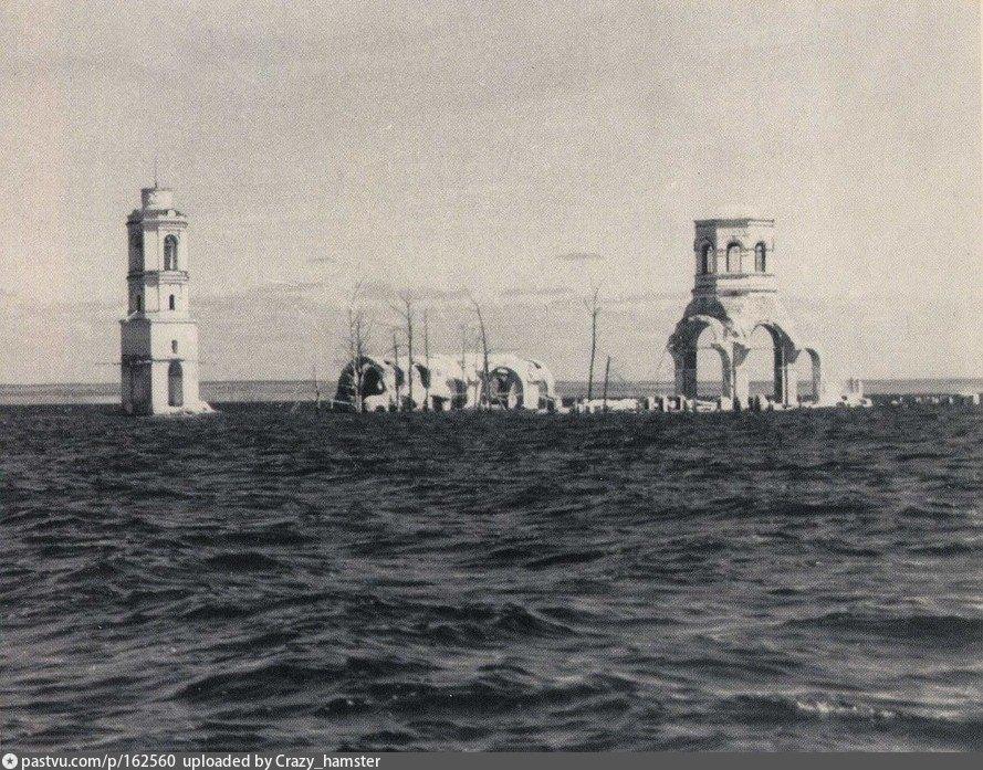 затопленные церкви рыбинского водохранилища фото
