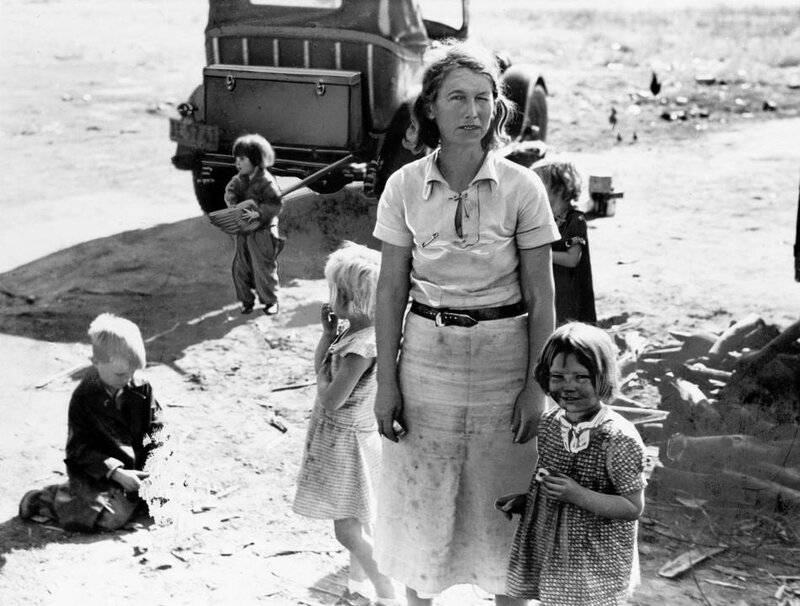 U.S. DUST BOWL MIGRATORY WORKER