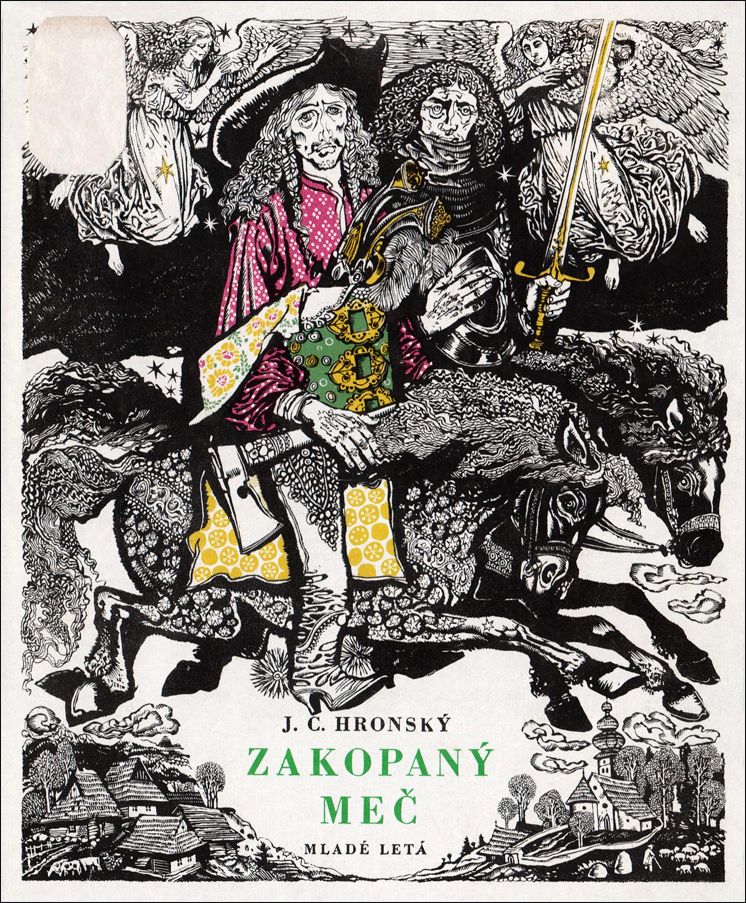Vladimír Machaj, Zakopany mec