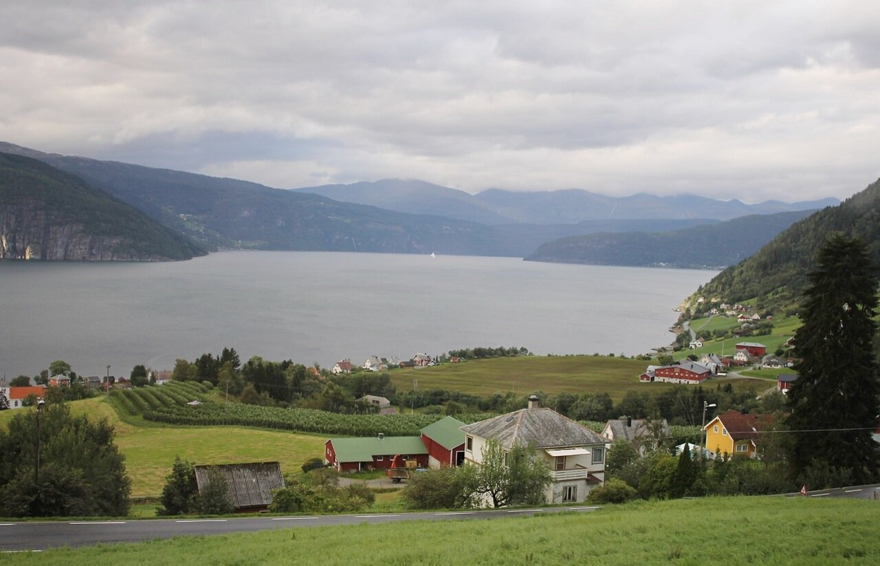 Norway, invikfjorden. Норвегия, Инвикфьорден