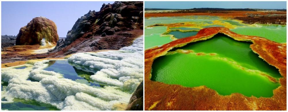 flickr / wikimedia / turcanin Сегодня вокрестностях Даллола ведется добыча соли, поэтому назвать