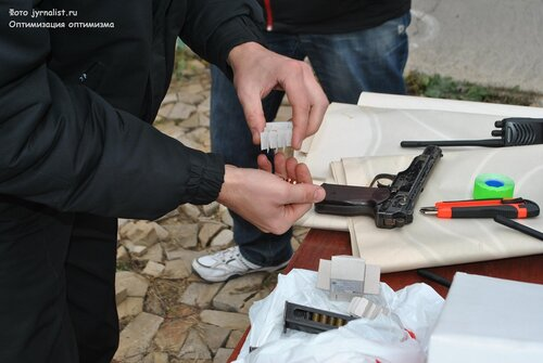 государственная служба охраны в луганской области УГСО вручение автомобилей и стрельба