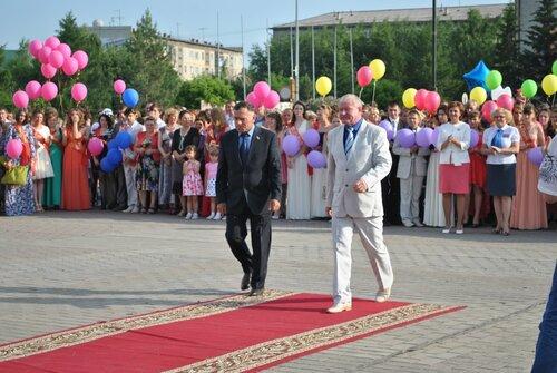 Час выпускника, Куйбышев, Аспект