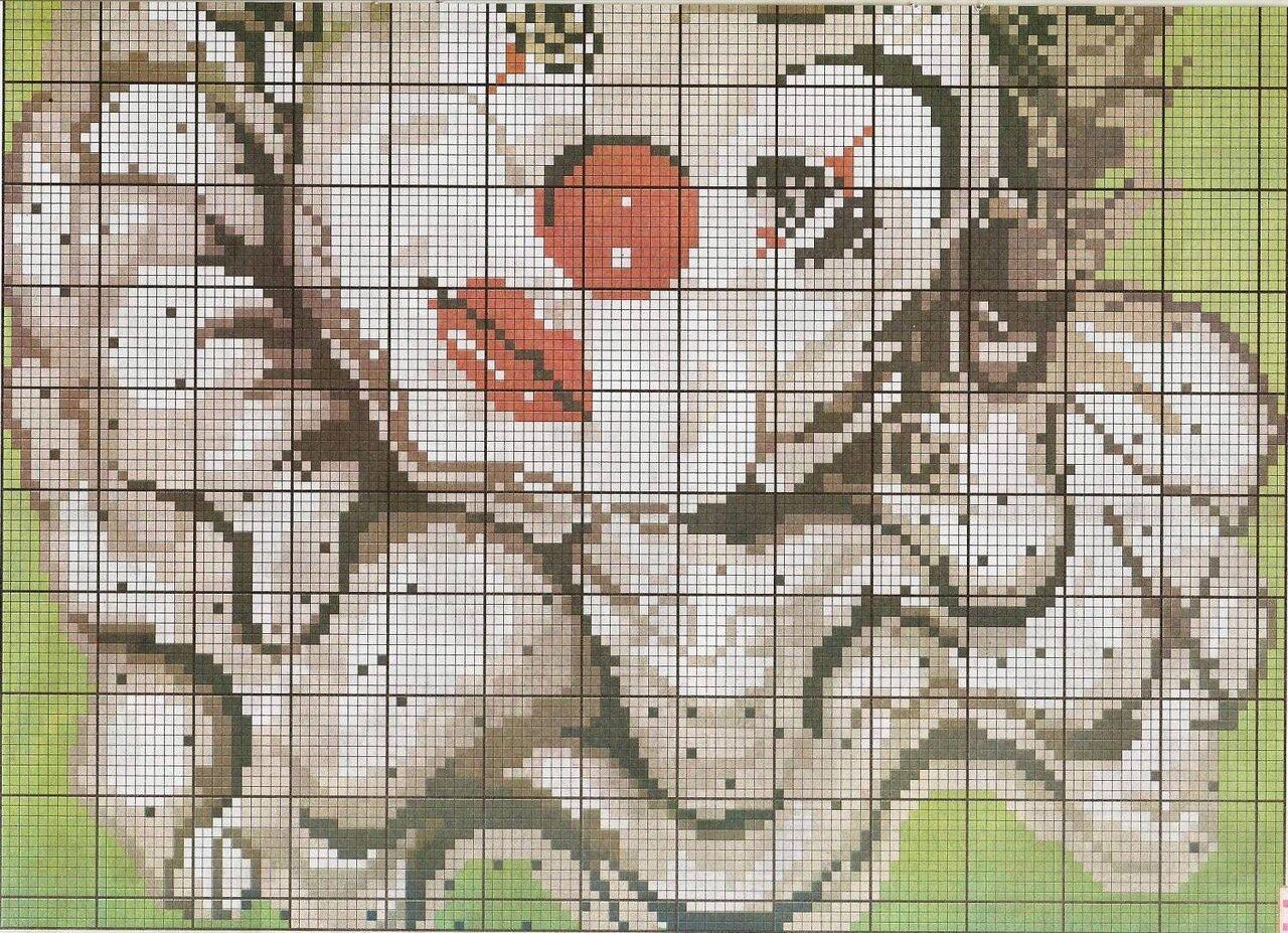 Ван гог звездная риолис схема вышивки