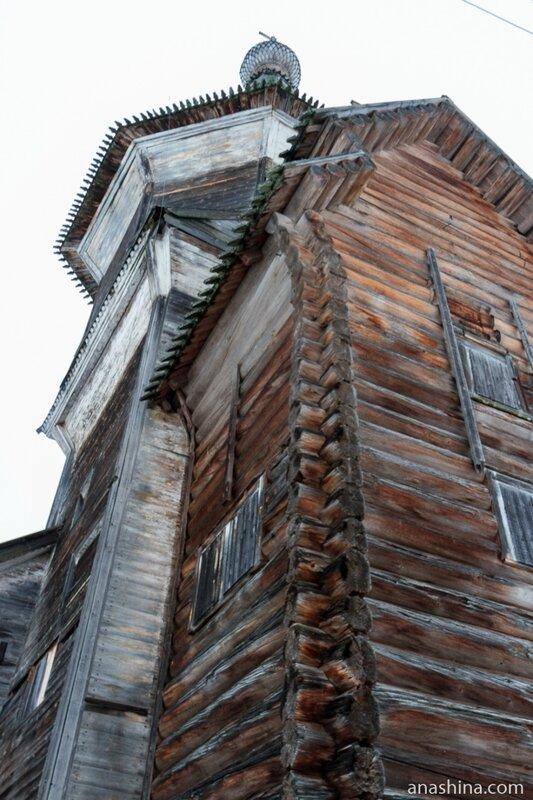 Ильинская церквь, Саминский Погост, Вологодская область