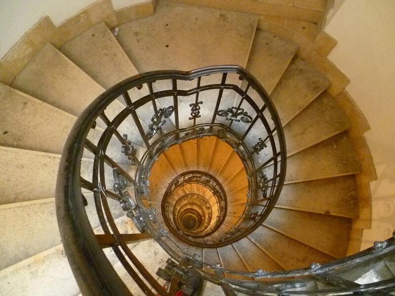 Будапешт, лестница на базилику святого Иштвана (Будапешт, лестница из базилики Святого Стефана)