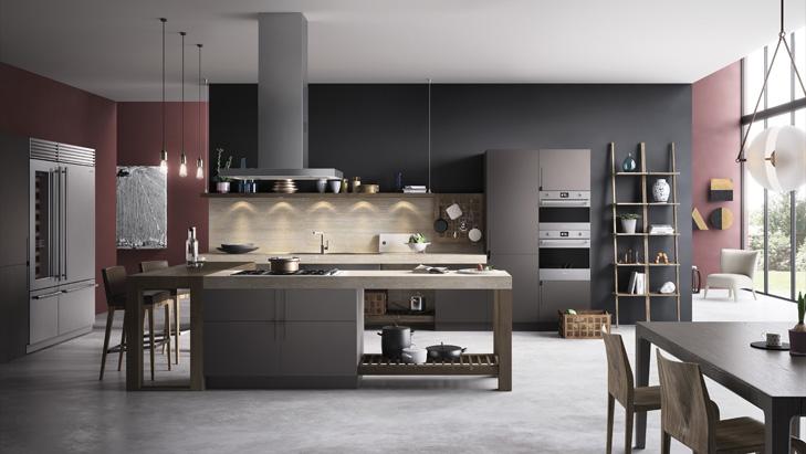SMEG classica - кухонный дизайн - Краснодар