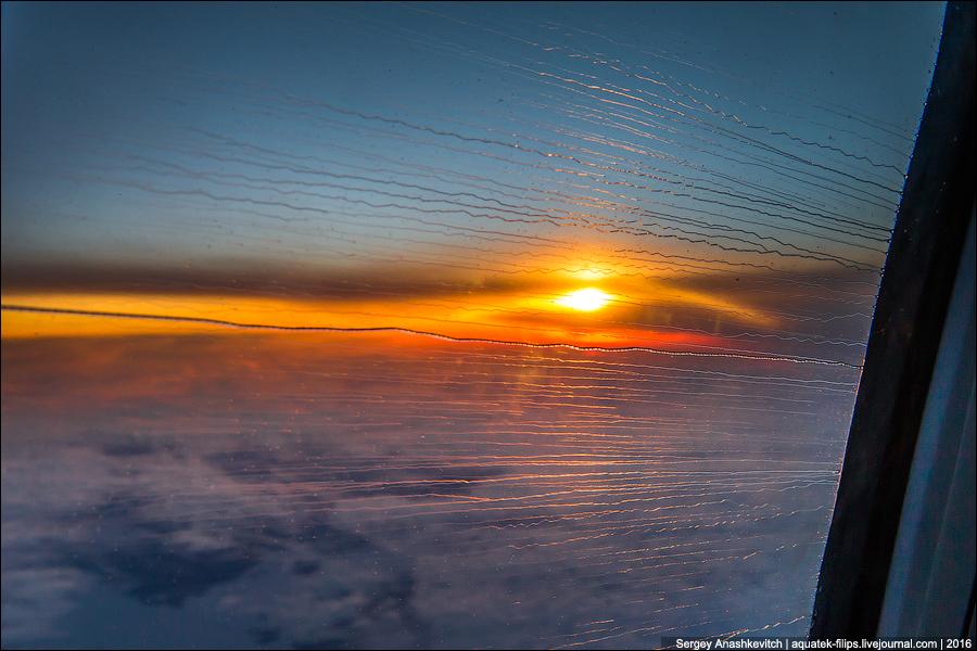 Рассвет над Полярным кругом
