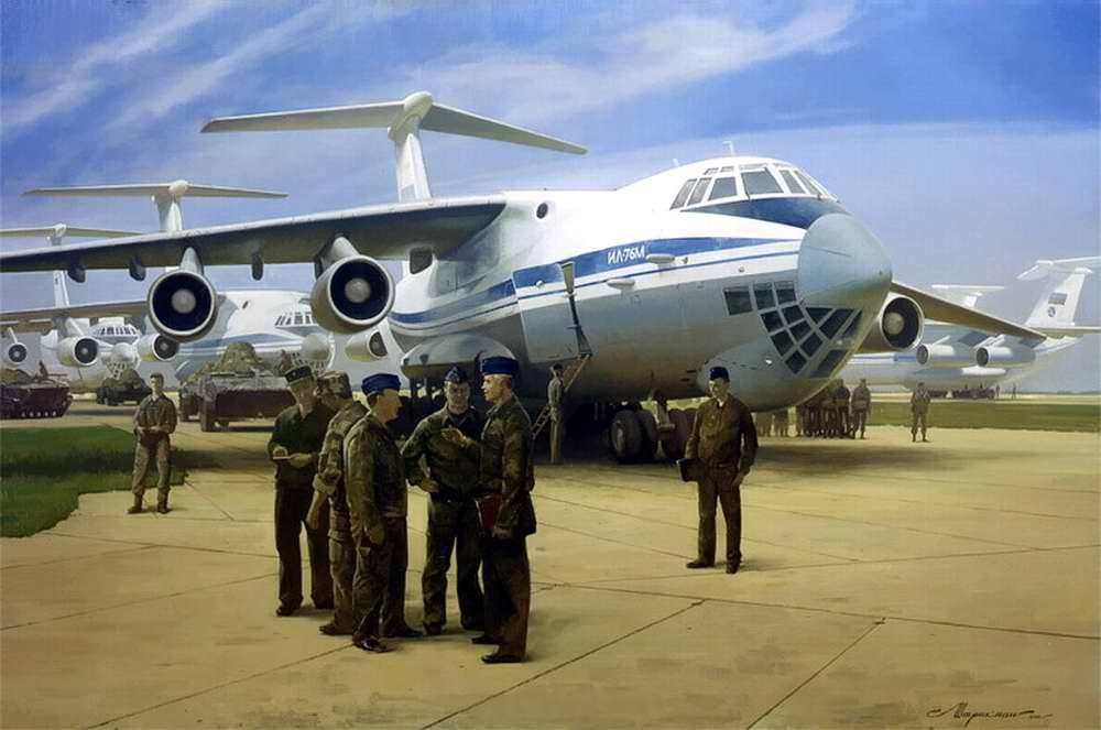 Военно-транспортная авиация: Доставить точно и в срок (Леонид Штрикман)