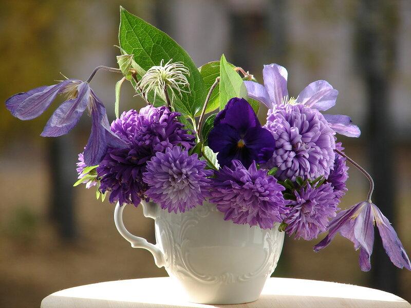 Цветочные композиции весны и лета!