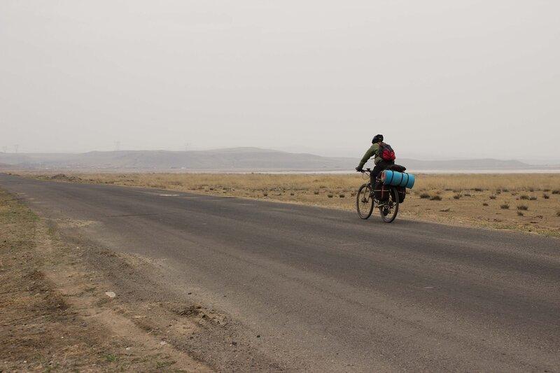 шоссе  S105 во внутренней монголии, китай