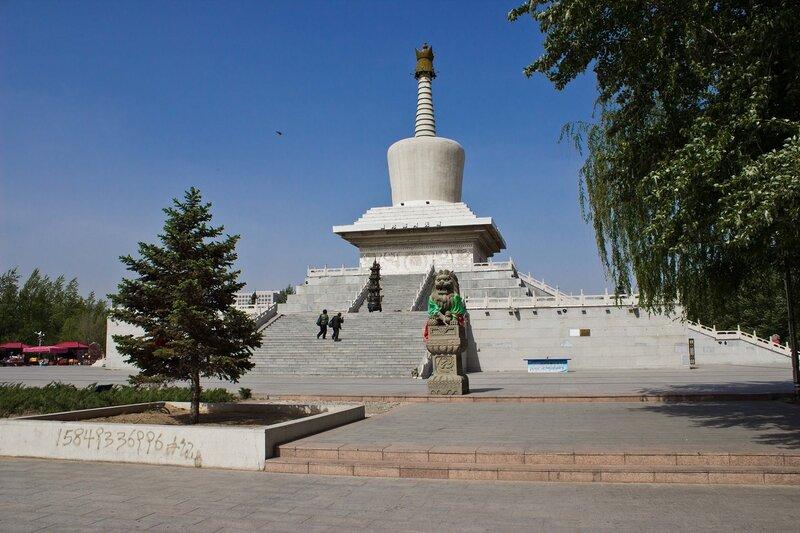 центральная площадь в Шулинчжао (Shulinzhao)