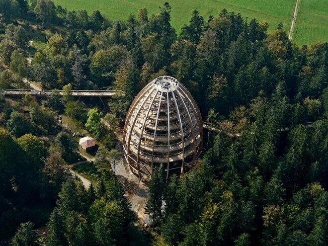 Тропа Баумвипфель. Бавария, Германия