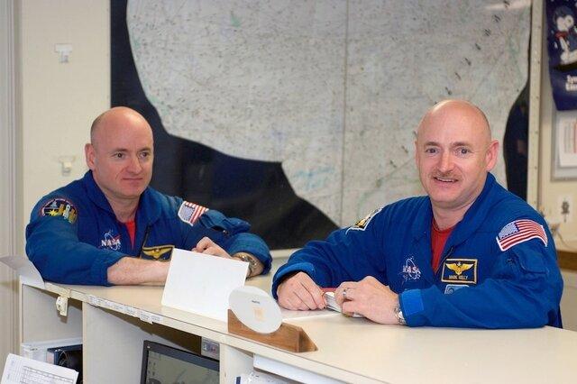Эксперимент от NASA: один брат-близнец на орбите, второй - на Земле