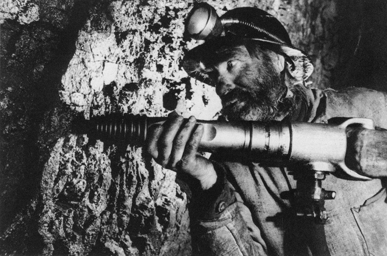 Знатный шахтёр Кузбасса Терехов. 1932 год.