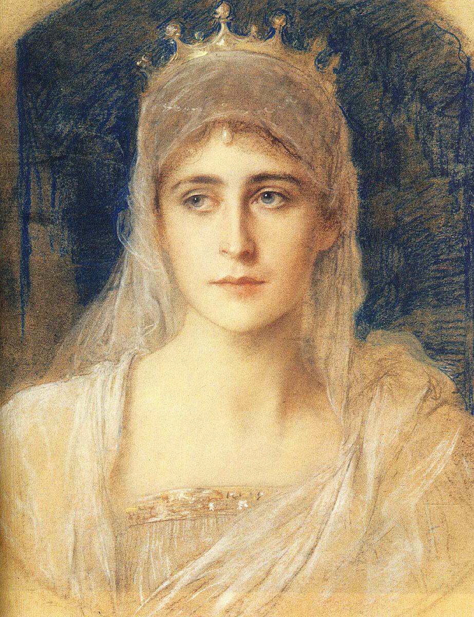 Фридрих Август фон Каульбах (1850–1920). Великая княгиня Елизавета Фёдоровна