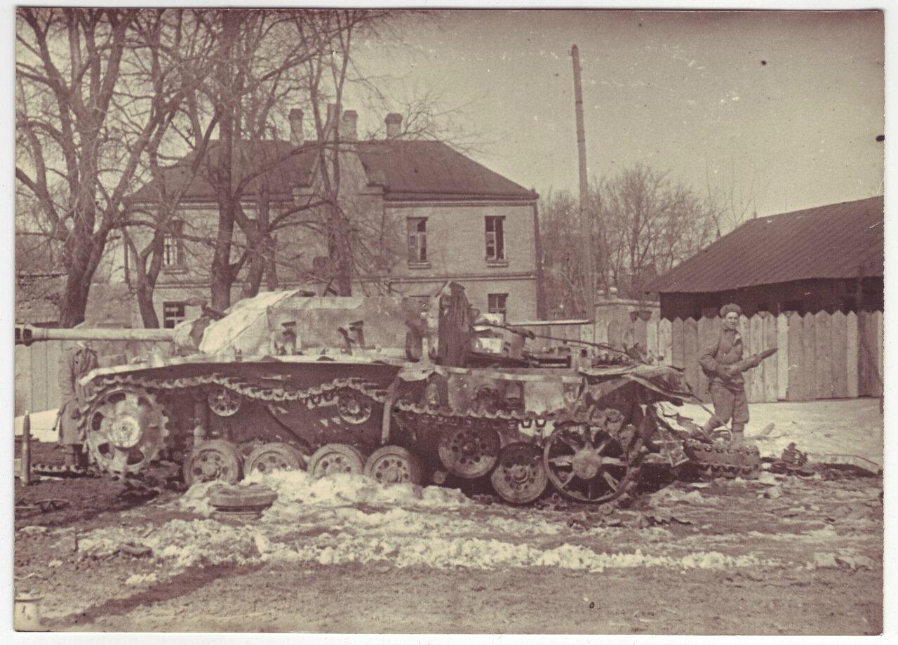 Уничтоженная немецкая техника, Проскуров, 1944