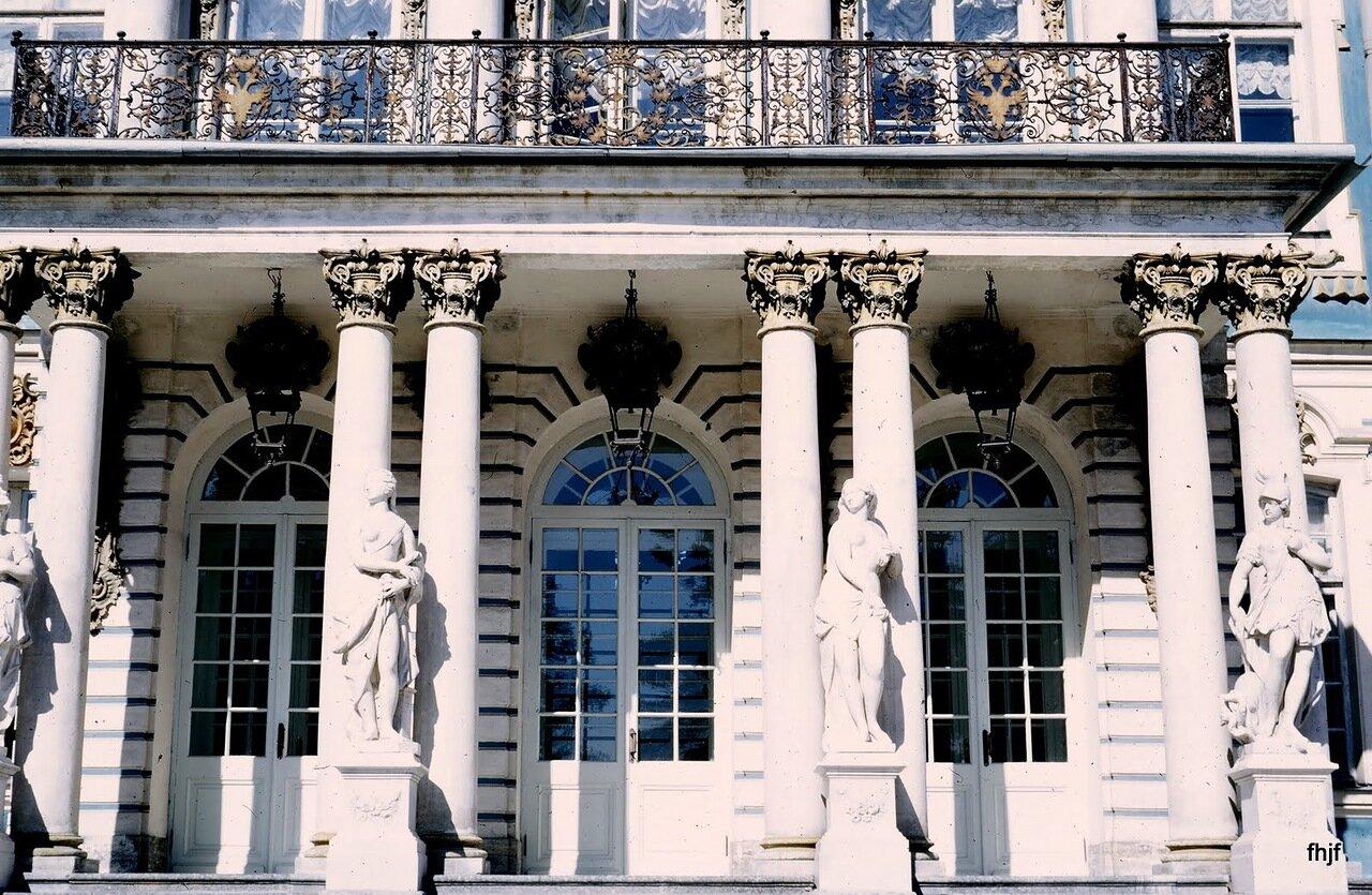 main entrance - Kodachrome
