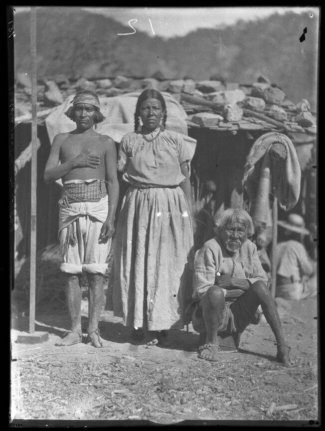 1893. Индейцы племени тепехуана, Баборигам
