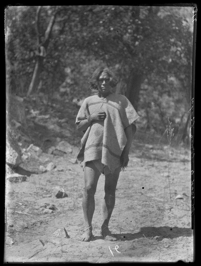 1892. Мужчина племени тараумара