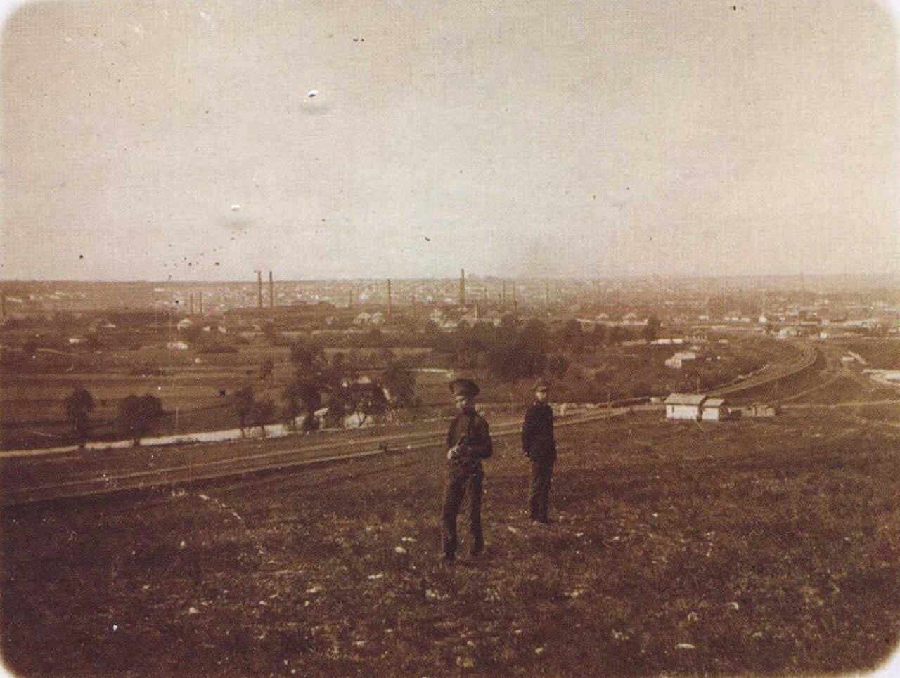 Общий вид города. 1913