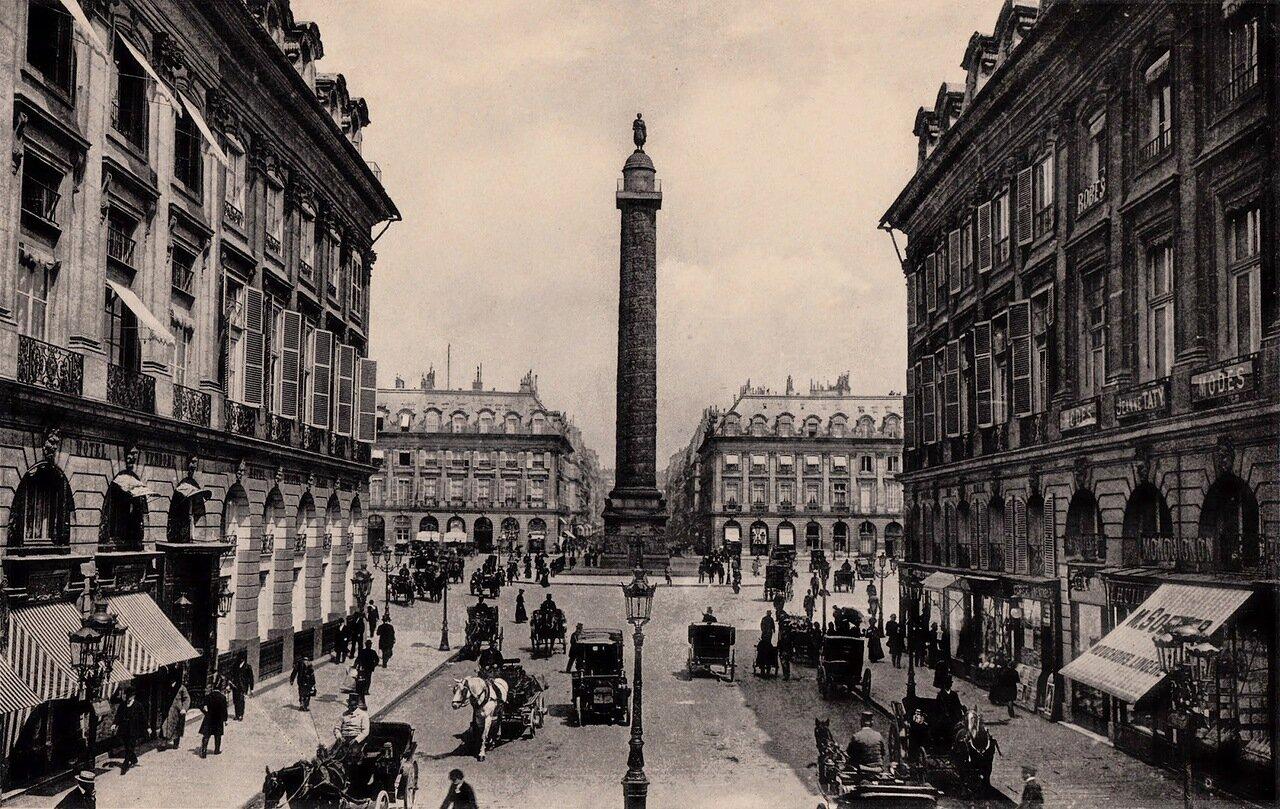1910-е. Вандомская площадь
