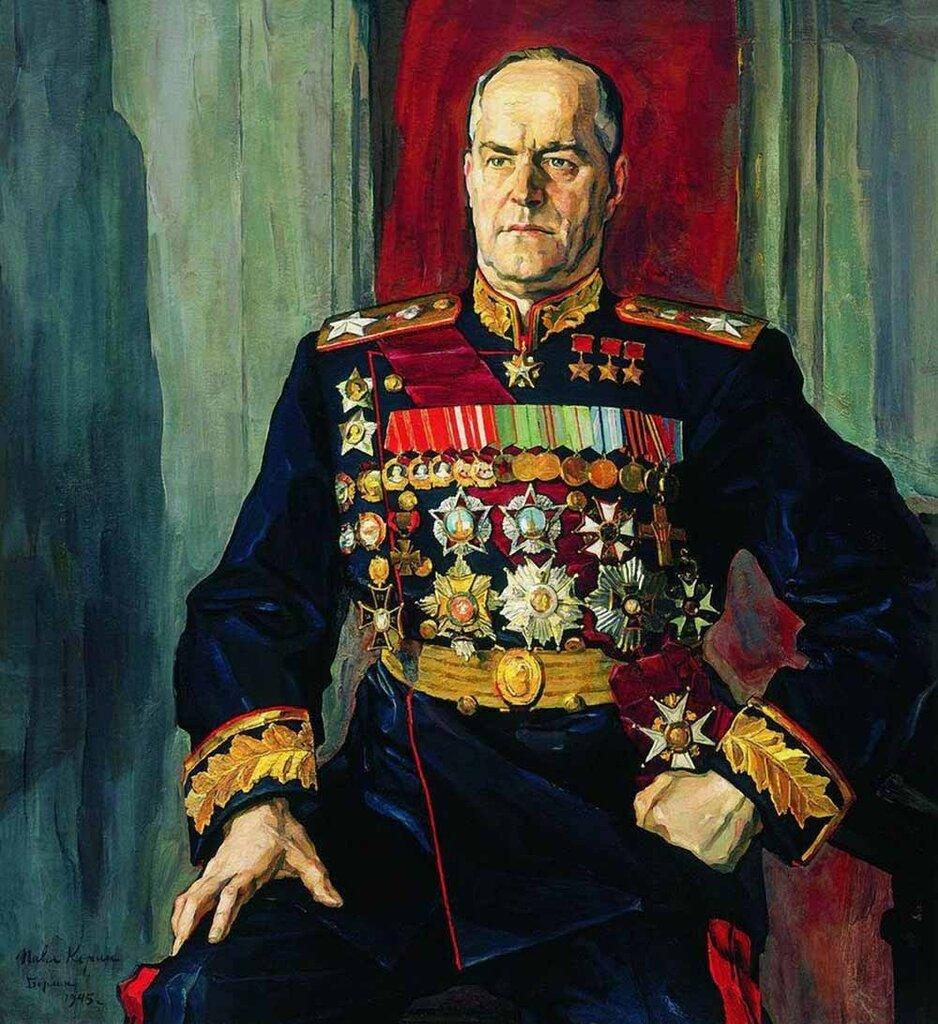 маршал Георгий Жуков, капитуляция Германии