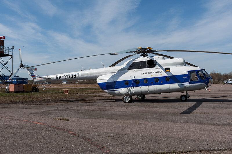 Миль Ми-8Т (RA-25365) Петропавловск D708412