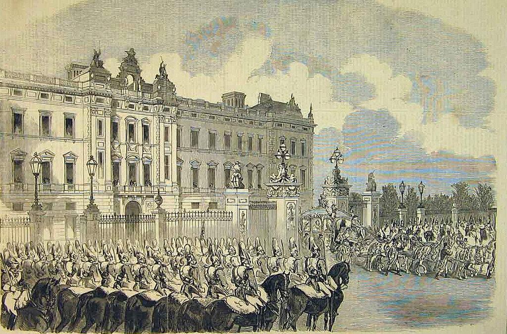 Buckingham palace официальная резиденция