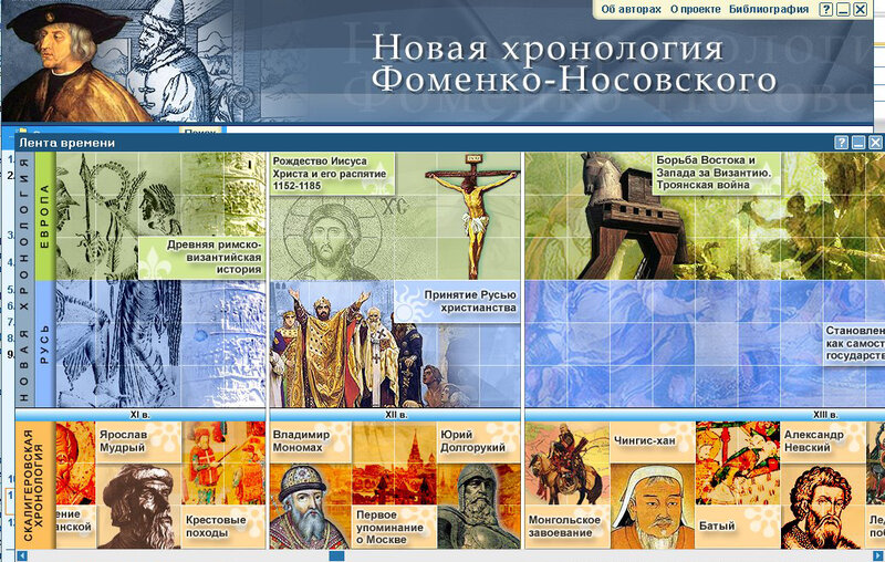 Фильм 1 Новая хронология - фальсификация данных истории- Фоменко Носовский