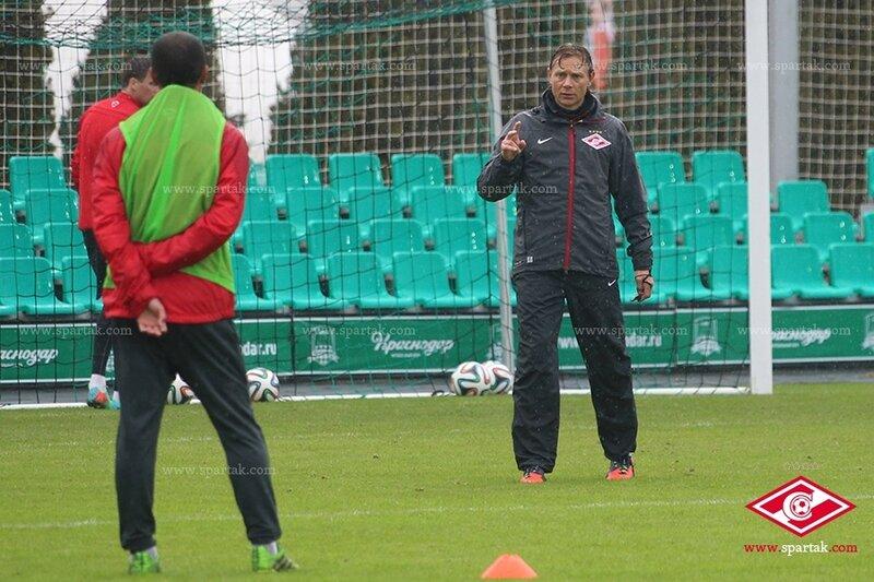 «Спартак» тренируется в Краснодаре (Фото)