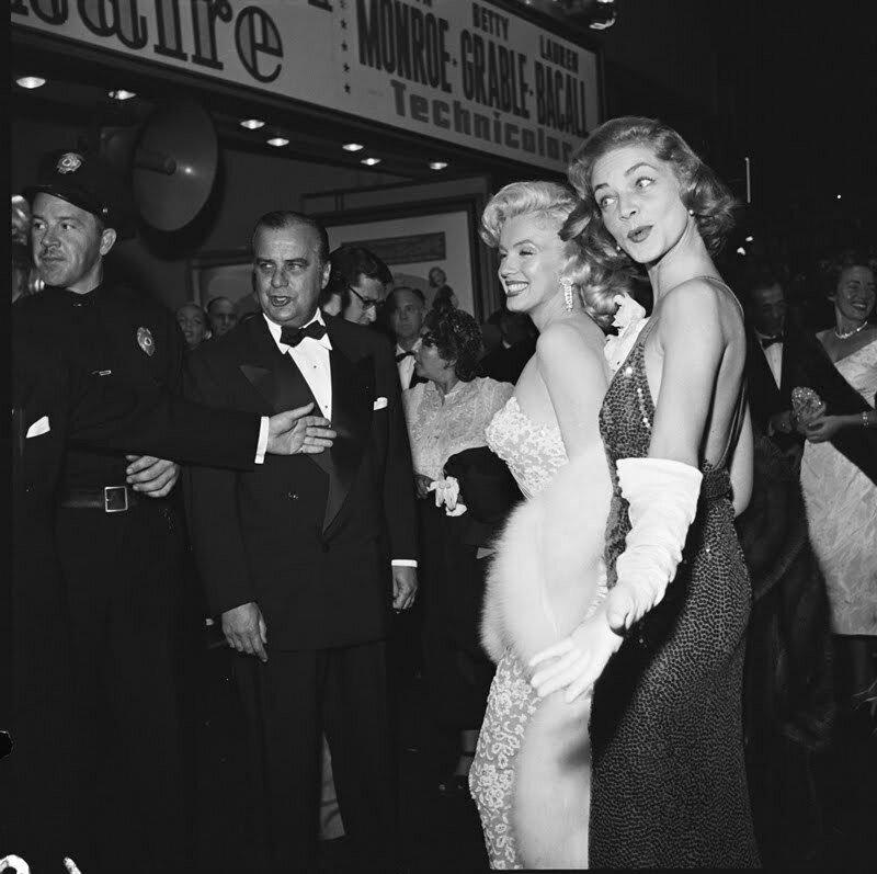 """1953. Премьера фильма """"How to marry a millionaire"""""""